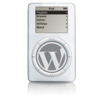 Wordpress is the iPod of blogging software